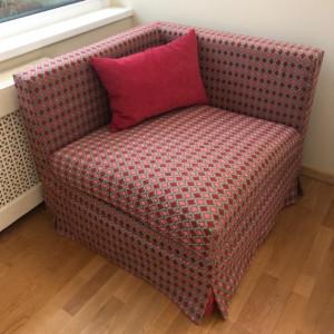 Кресло в чехле