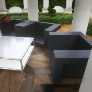 Уличная мебель без  чехла